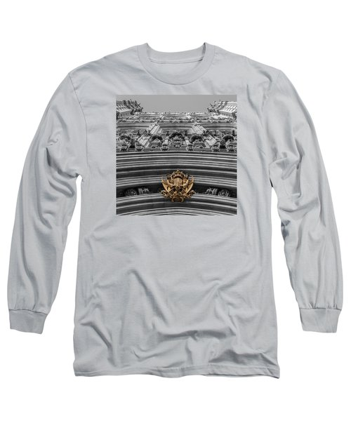 Victoria Tower Low Angle London Long Sleeve T-Shirt