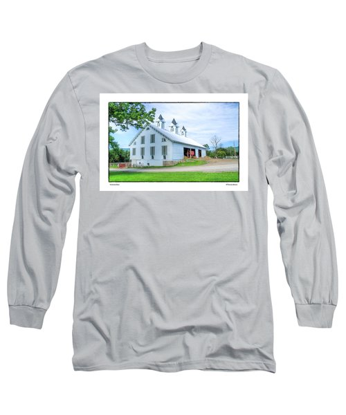 Victorian Barn Long Sleeve T-Shirt by R Thomas Berner