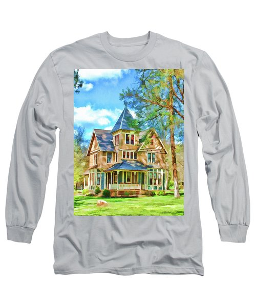 Victorian Painting Long Sleeve T-Shirt by Wendy McKennon
