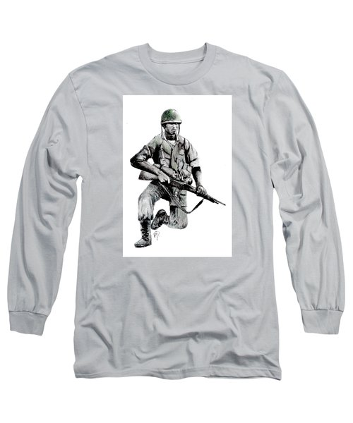 Vietnam Infantry Man Long Sleeve T-Shirt