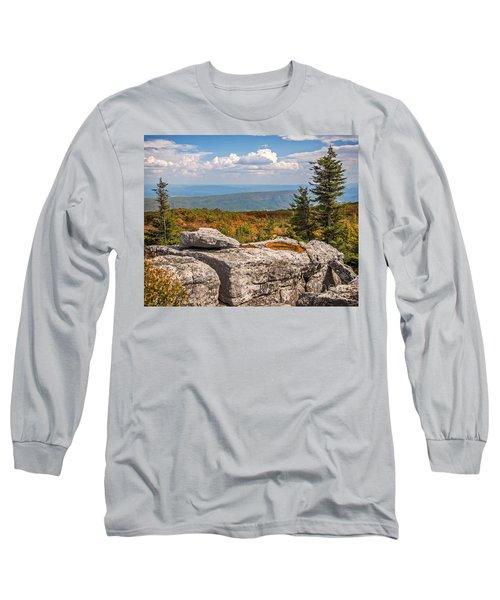 View From Bear Rocks 4173c Long Sleeve T-Shirt