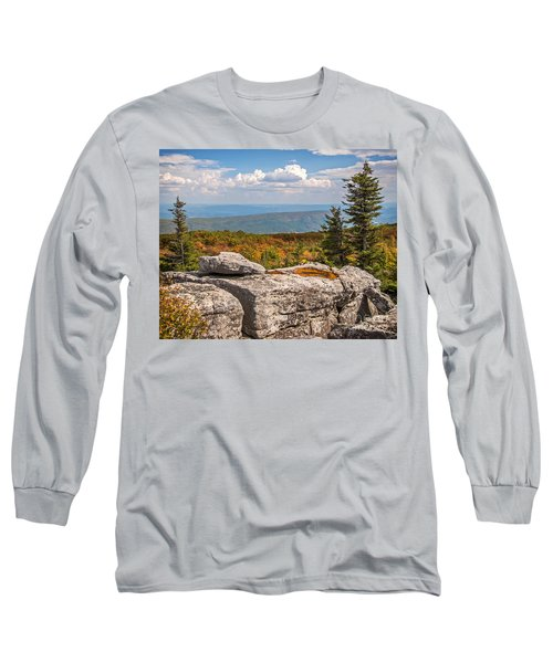 View From Bear Rocks 4173c Long Sleeve T-Shirt