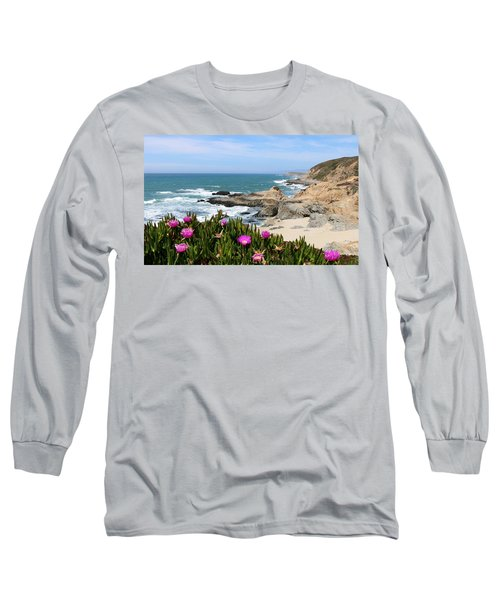 View From Bodega Head In Bodega Bay Ca - 3 Long Sleeve T-Shirt