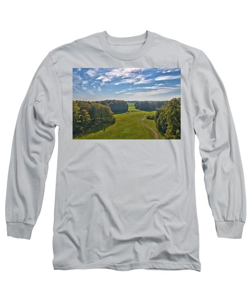 View From Lilac Mountain Long Sleeve T-Shirt