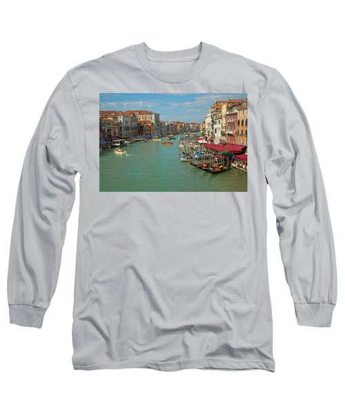 View From Rialto Bridge Long Sleeve T-Shirt