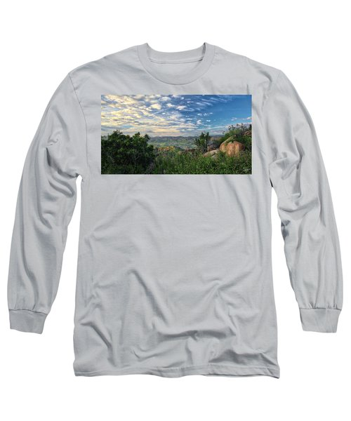 View Of Simi Valley Long Sleeve T-Shirt by Endre Balogh