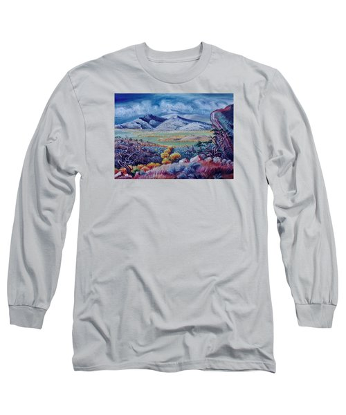 Long Sleeve T-Shirt featuring the painting View South From Cedar Breaks by Dawn Senior-Trask