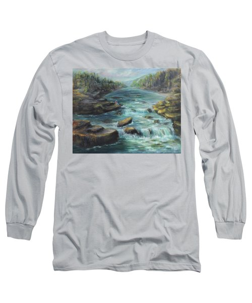 Viewing The Rapids Long Sleeve T-Shirt