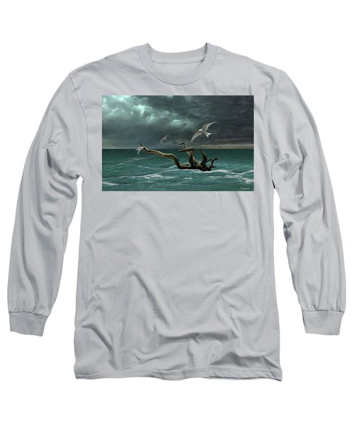 Vigil At Sea Long Sleeve T-Shirt