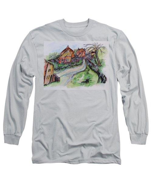 Village Back Street Long Sleeve T-Shirt