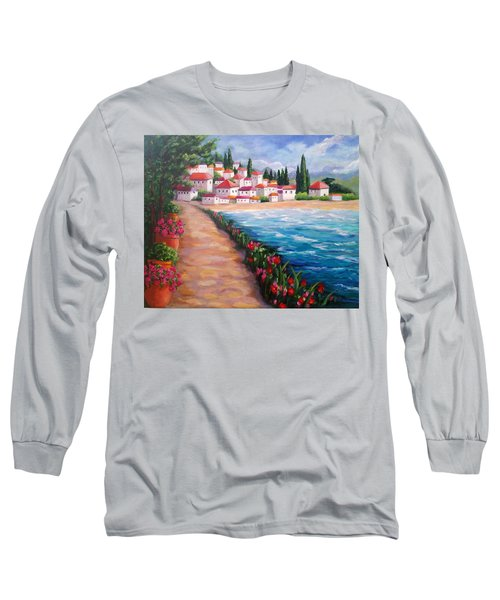 Villas By The Sea Long Sleeve T-Shirt