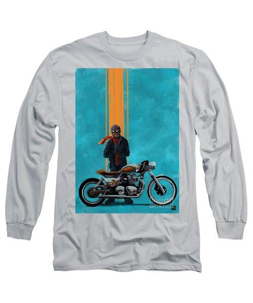 Vintage Cafe Racer  Long Sleeve T-Shirt