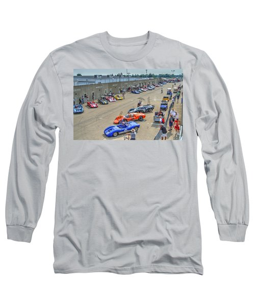 Vintage Gasoline Alley  Long Sleeve T-Shirt by Josh Williams