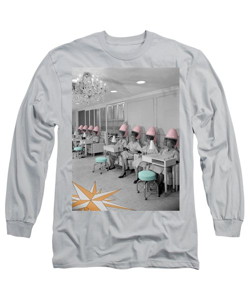 Vintage Hair Salon Long Sleeve T-Shirt