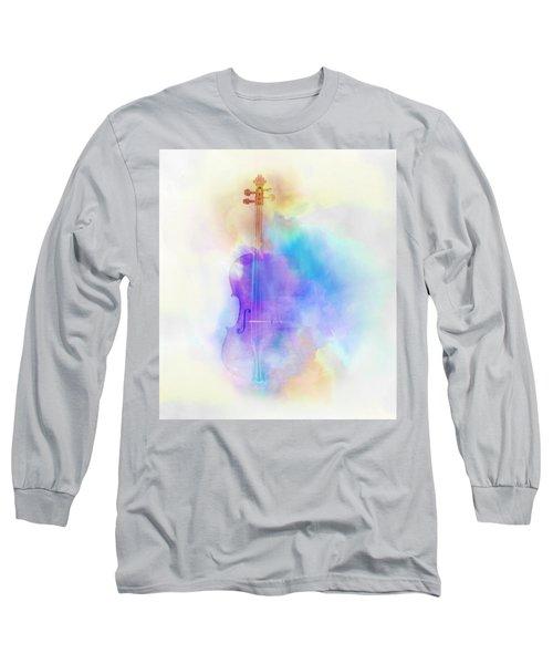 Violin Long Sleeve T-Shirt by Scott Meyer