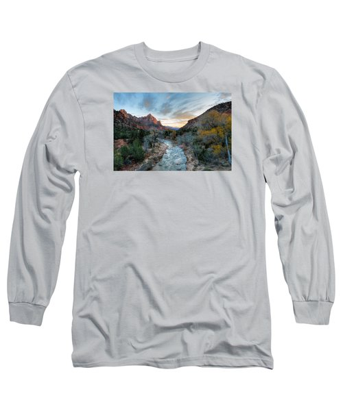 Virgin River And The Watchman Long Sleeve T-Shirt