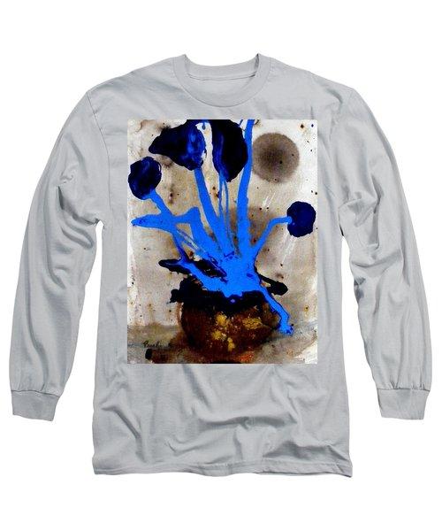 Virtually Blue Long Sleeve T-Shirt