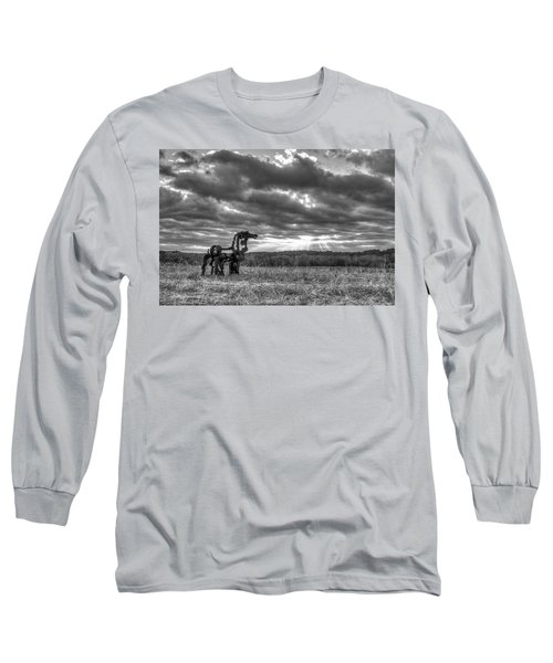 Visible Lights The Iron Horse Sunrise Art Long Sleeve T-Shirt