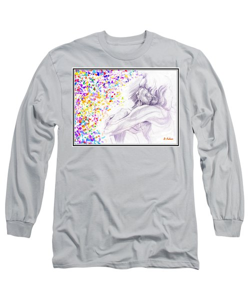 Visionary Long Sleeve T-Shirt by Denise Fulmer