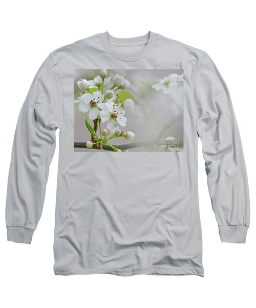 Visions Of White Long Sleeve T-Shirt