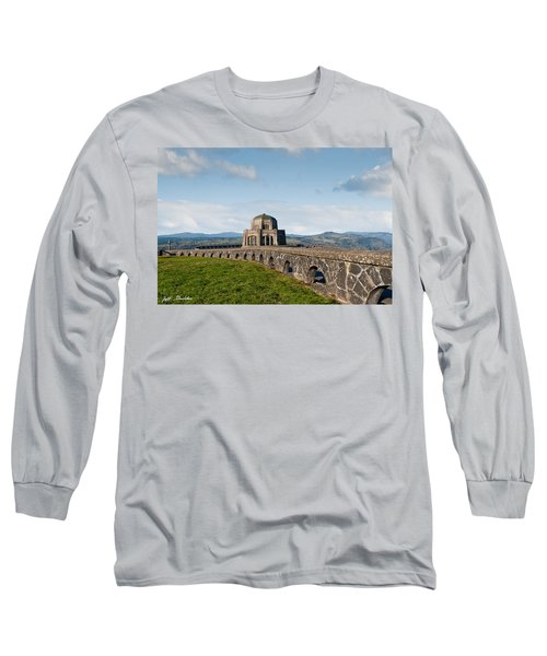 Vista House At Crown Point Long Sleeve T-Shirt