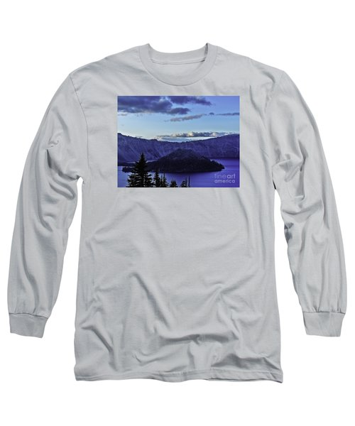 Long Sleeve T-Shirt featuring the photograph Volcano Within by Nancy Marie Ricketts