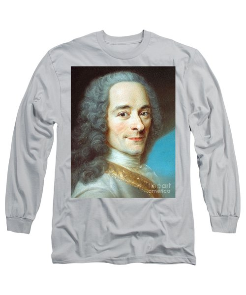 Voltaire Long Sleeve T-Shirt by Pg Reproductions