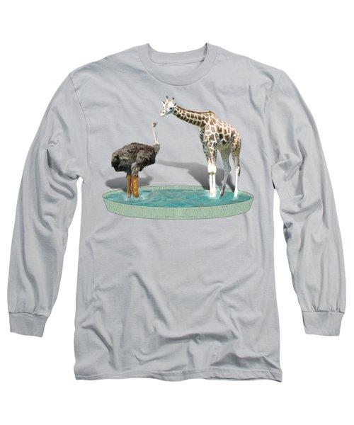 Wading Pool Long Sleeve T-Shirt