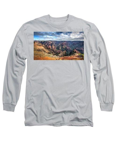 Waimea Canyon Kauai Hawaii Long Sleeve T-Shirt