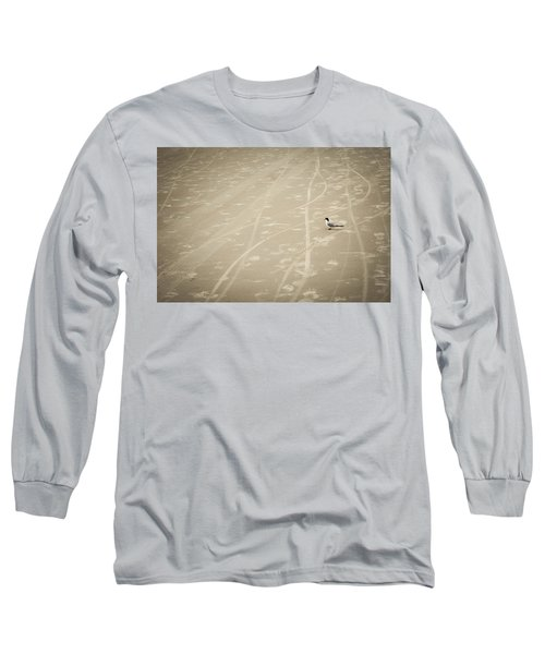 Long Sleeve T-Shirt featuring the photograph Waiting My Turn by Carolyn Marshall