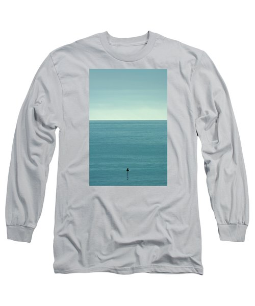 Waiting Long Sleeve T-Shirt by Peter Tellone