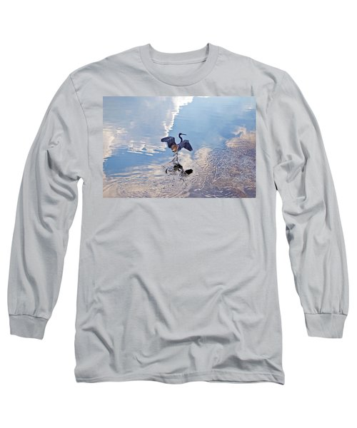 Walking On Water Long Sleeve T-Shirt