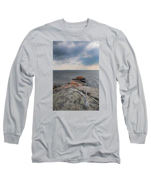 Wall Island Lichen Driftwood 3640 Long Sleeve T-Shirt