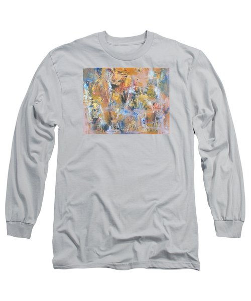 Wall Memories Long Sleeve T-Shirt by Becky Chappell