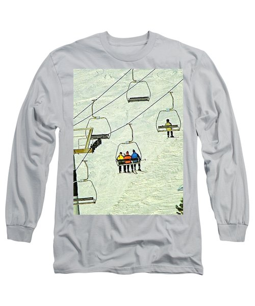 Wanna Lift Long Sleeve T-Shirt by Wendy McKennon