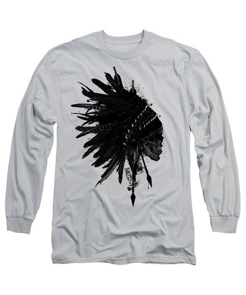 Warbonnet Skull Long Sleeve T-Shirt