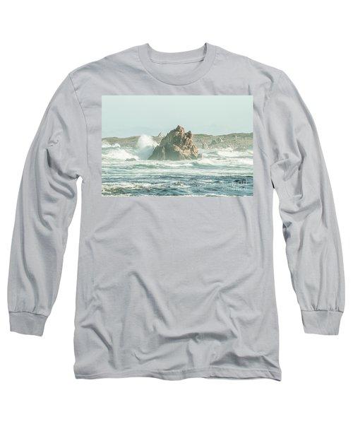 Wash Of Blue Long Sleeve T-Shirt