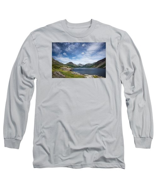 Wastwater Morning Long Sleeve T-Shirt by Jacqi Elmslie