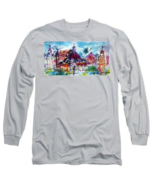 Wat Chimphli Sutthawat Long Sleeve T-Shirt