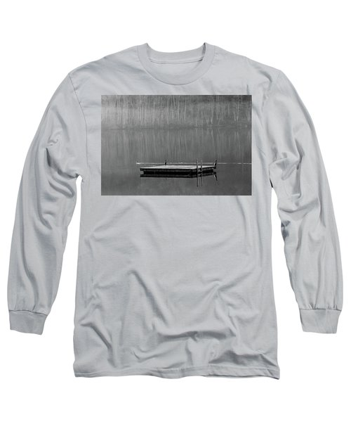 Watching The Chicks Go By Long Sleeve T-Shirt by Jeffrey Jensen