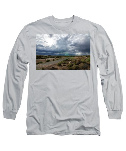 Watching The Storms Roll By Long Sleeve T-Shirt