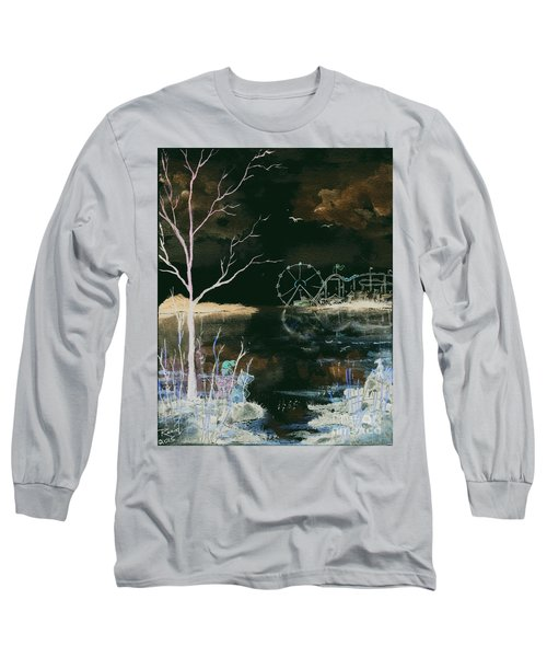 Watching The World Go Round Inverted Long Sleeve T-Shirt