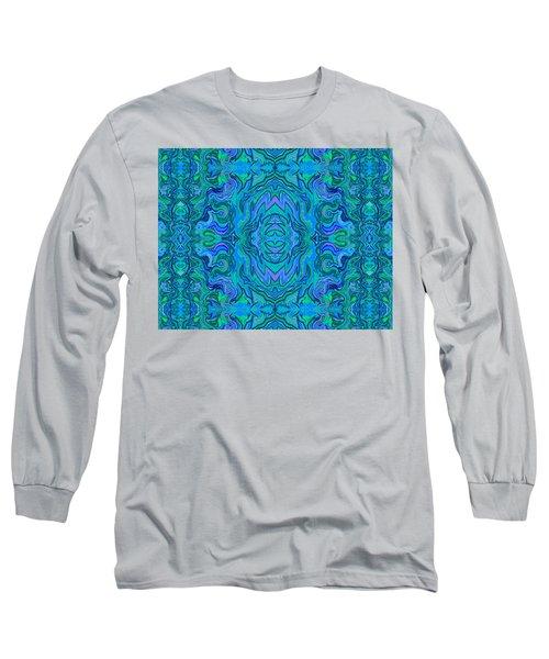 Water Art Pattern  Long Sleeve T-Shirt