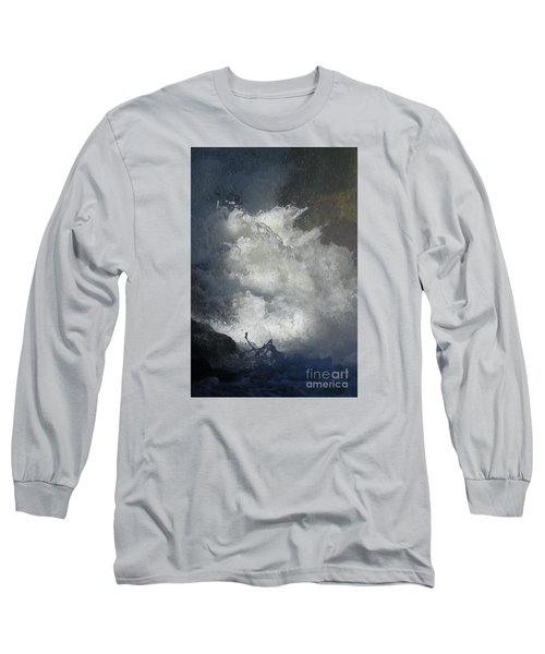 Water Fury 3 Long Sleeve T-Shirt by Jean Bernard Roussilhe