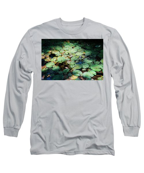 Water Lillies Long Sleeve T-Shirt