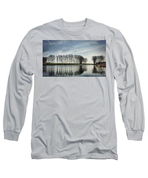 Water Reflection Long Sleeve T-Shirt