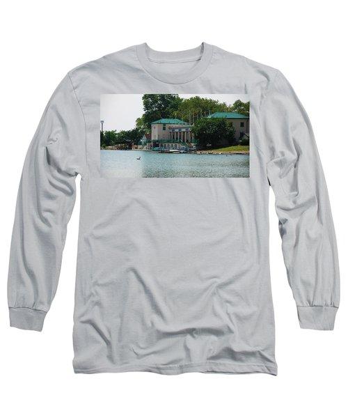 Waterfront Long Sleeve T-Shirt by Jose Rojas
