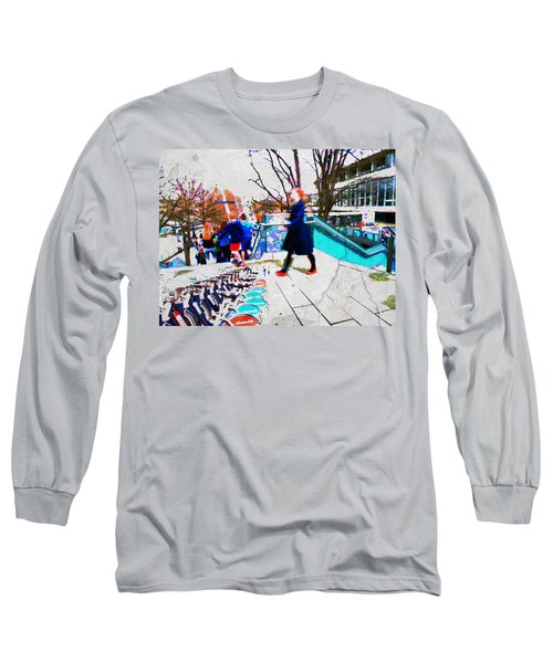 Waterloo Street Scene Long Sleeve T-Shirt