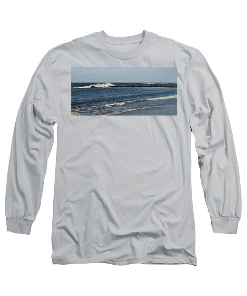Long Sleeve T-Shirt featuring the photograph Waves by Sandy Keeton