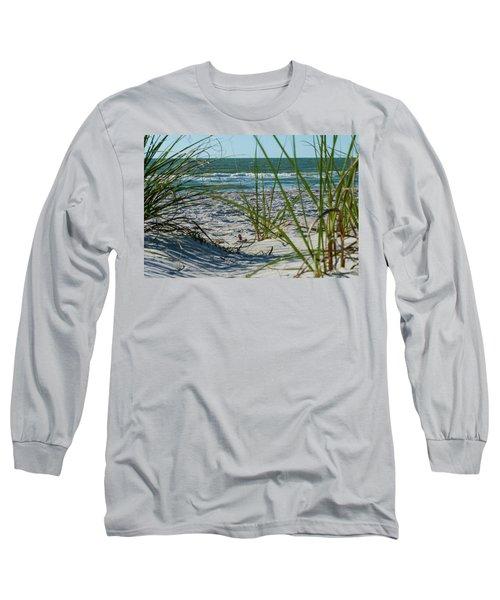 Waves Through The Grass Long Sleeve T-Shirt